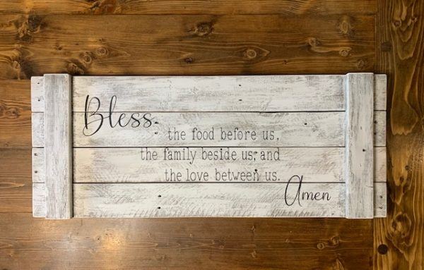 Handcrafted Reclaimed Wood Sign